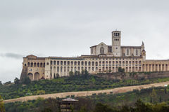 Basilica of St. Francis of Assisi, Italy Royalty Free Stock Photo