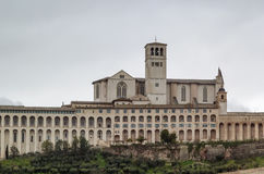 Basilica of St. Francis of Assisi, Italy Stock Image