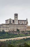 Basilica of St. Francis of Assisi, Italy Stock Images