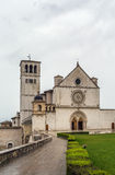 Basilica of St. Francis of Assisi, Italy Royalty Free Stock Photography