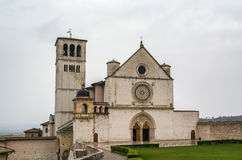 Basilica of St. Francis of Assisi, Italy Stock Photos