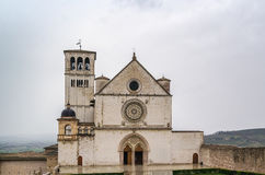 Basilica of St. Francis of Assisi, Italy Stock Photography