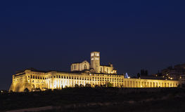 Basilica of St. Francis in Assisi Royalty Free Stock Photography