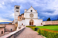Basilica of St Francis Royalty Free Stock Photography