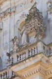 Basilica of St. Giovanni Battista. Lecce. Puglia. Italy. Royalty Free Stock Images