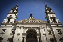 Basilica of St. Istvan Royalty Free Stock Photography
