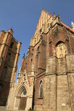 Basilica of St. Jacob and Agnes nysa Royalty Free Stock Photography
