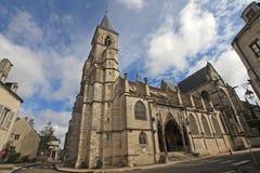 Basilica of St. John the Baptist, Chaumont Royalty Free Stock Image