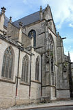 Basilica of St. John the Baptist, Chaumont Stock Photos
