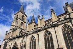 Basilica of St. John the Baptist, Chaumont Royalty Free Stock Photos