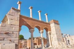 Basilica of St. John of Ephesus. Place of many pilgrimages and e Stock Photography