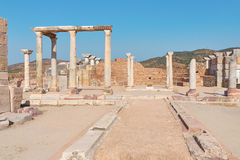 Basilica of St. John of Ephesus. Place of many pilgrimages and e Royalty Free Stock Images