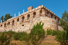 Basilica of St. John of Ephesus. Place of many pilgrimages and e Royalty Free Stock Image