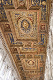 Basilica of St. John Lateran Ceiling Stock Images