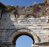 Basilica St John in Selcuk Turkey Fotografia Stock