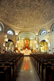 Basilica of St. Lawrence in Asheville Royalty Free Stock Photo