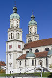 Basilica of St. Lawrence. The Basilica of St. Lawrence in Kempten is a former abbey church of the Benedictine and what built in the 17th century stock photo