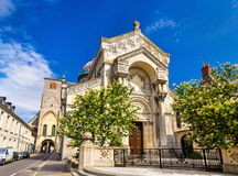 Basilica of St. Martin in Tours Stock Image