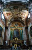 Basilica of St. Mary of the Angels and the Martyrs Stock Image