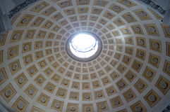 The Basilica of St. Mary of the Angels and the Martyrs in Rome Royalty Free Stock Photography