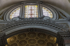 Basilica of St. Mary of the Angels and the Martyrs in Rome, Ital Royalty Free Stock Image
