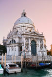 Basilica of St Mary of Health in Venice Stock Photo