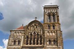 Basilica St. Mary Magdalene in Vezelay Royalty Free Stock Photos