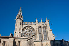 Basilica of St. Nazaire and St. Celse Royalty Free Stock Images