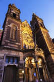 Basilica of St. Nicholas in Amsterdam Royalty Free Stock Photos