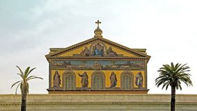 Basilica St Paul Outside the Walls Stock Photography