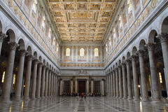 Basilica of St Paul Outside the Walls Royalty Free Stock Photo