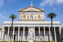 Basilica of St. Paul Outside the Walls, Rome Stock Photography