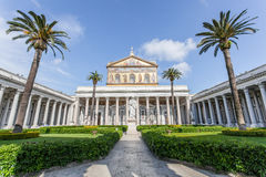 Basilica of St. Paul Outside the Walls, Rome Royalty Free Stock Photos