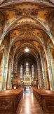 Basilica of St. Peter and St. Paul, Prague. Interior of Basilica of st Peter and Paul in Vysehrad, Prague, Czech Republic Stock Photography