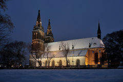Basilica. Of St. Peter and Paul at Vysehrad Stock Photo