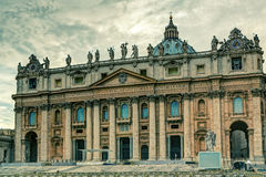 Basilica of St. Peter in Rome Stock Photography