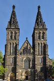 Basilica of St Peter and St Paul in Prague, Stock Images