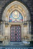 Basilica of St Peter and St-Paul's side doors Royalty Free Stock Photography