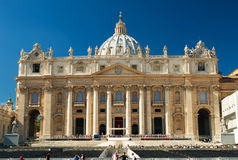 Basilica of St. Peter, Vatican. Basilica of St. Peter, Rome, Italy Royalty Free Stock Photography