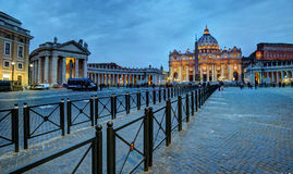 Basilica of St. Peter. In the Vatican Royalty Free Stock Images