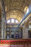 Basilica of St. Peter, Vatican, Rome. Basilica of St. Peter in Vatican, Rome, Italy Royalty Free Stock Photos
