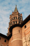 Basilica of St. Sernin Stock Image