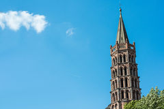 The Basilica of St. Sernin in Toulouse, France. Royalty Free Stock Images