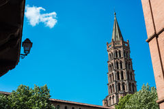 The Basilica of St. Sernin in Toulouse, France. Royalty Free Stock Photography