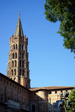Basilica of St. Sernin in Toulouse, France Stock Photos