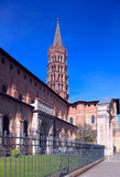 Basilica of St. Sernin (XI c.), Toulouse Royalty Free Stock Photos
