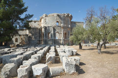 Basilica of St Simeon Stock Image