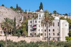 Basilica of St. Stephen in Jerusalem. Royalty Free Stock Images