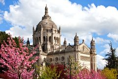 Basilica of St. Therese of Lisieux France Royalty Free Stock Photos
