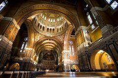 Basilica of St. Therese of Lisieux France Stock Photos